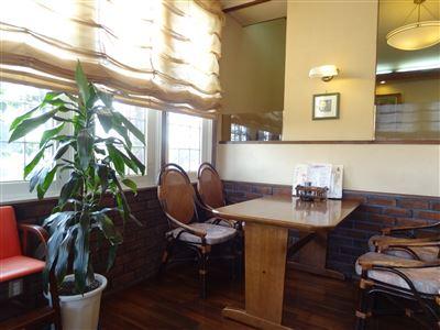 カフェ・ド・グレコの店内の様子