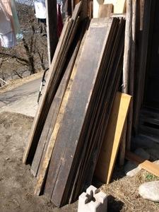 4テラス用板ゲット