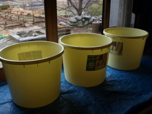 4樽を用意する