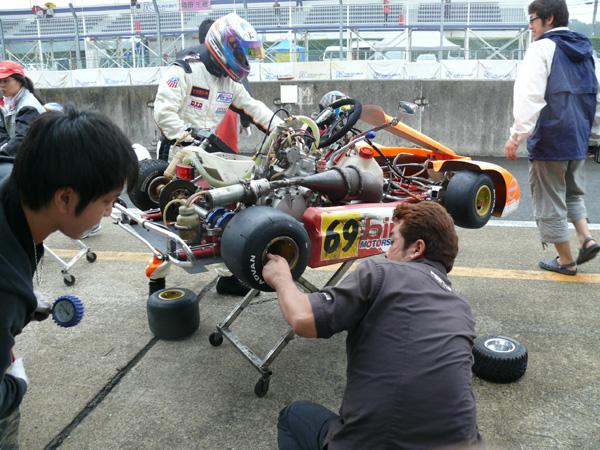 つくばサーキット 2011 スーパーカートシリーズ