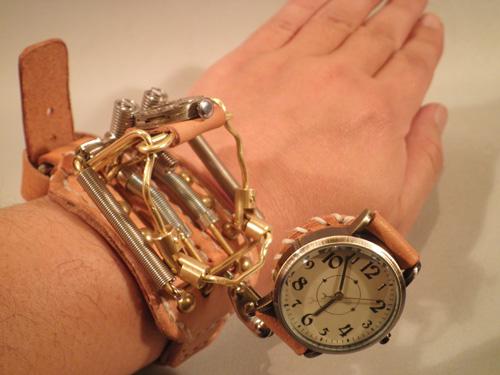 スチームパンク 腕時計