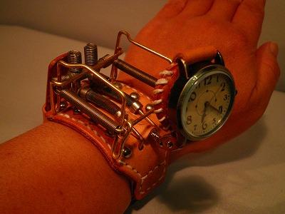Steampunk Wristwatch