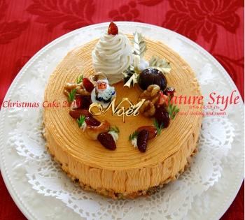 クリスマスケーキ2014ホール (350x315)