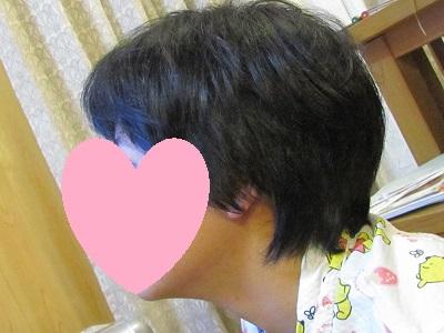 愛ちゃん散髪