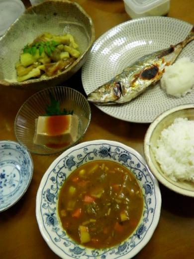 2010年5月18日夕食