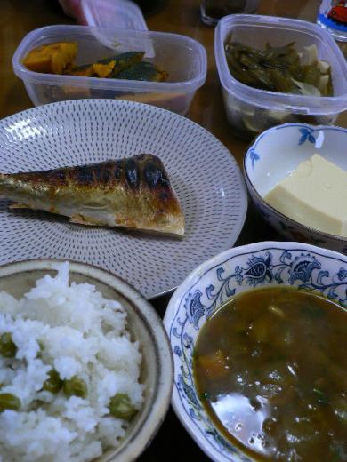 2010年5月31日夕食