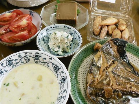 2010年6月16日夕食