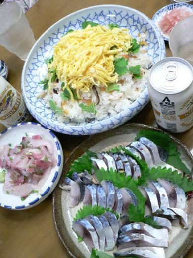 2010年9月10日夕食