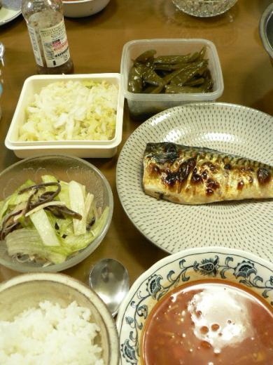 2010年9月13日夕食