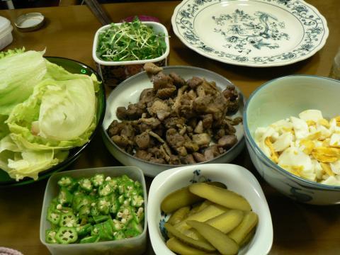 2010年9月17日夕食