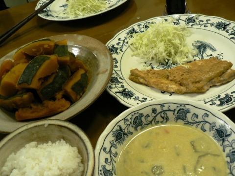 2010年9月19日夕食