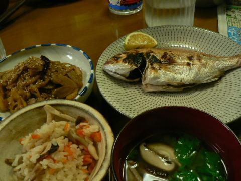 2010年9月24日夕食