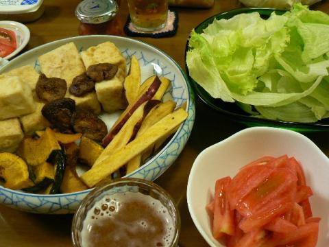 2010年9月29日夕食