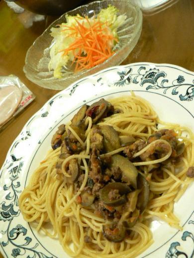 2010年10月1日夕食