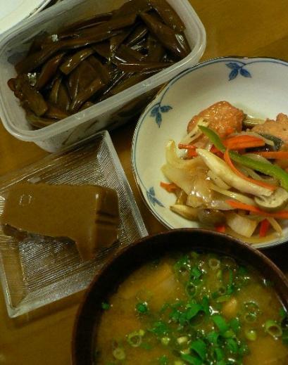 2010年10月20日夕食