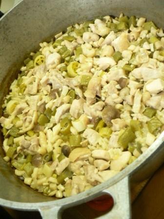 2010年10月22日夕食
