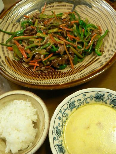 2010年10月27日夕食