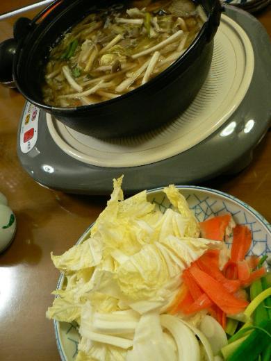 2010年10月29日夕食