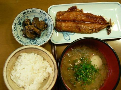 2010年11月1日夕食