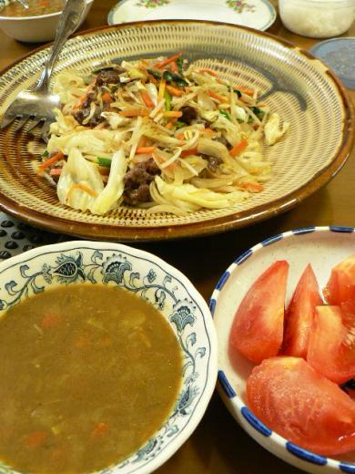2010年11月8日夕食
