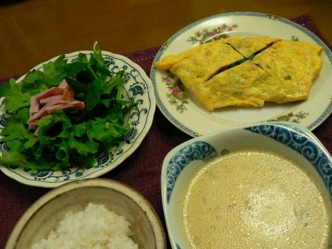 2010年11月14日夕食