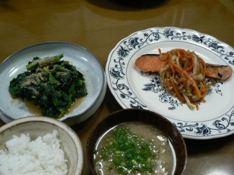 2010年2月27日夕食