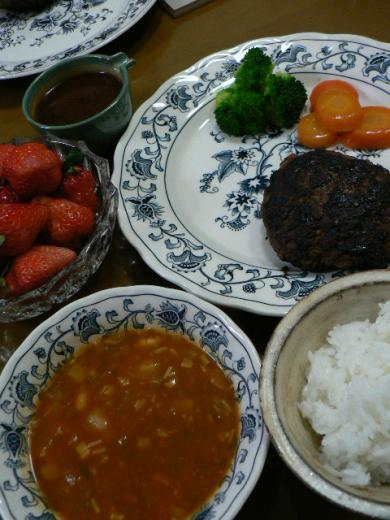 2011年3月1日夕食