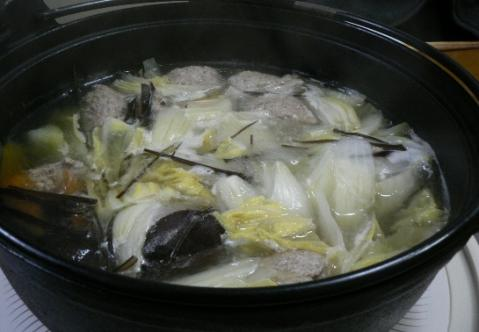 2011年3月3日夕食