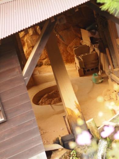 小鹿田焼き民陶祭にて撮影