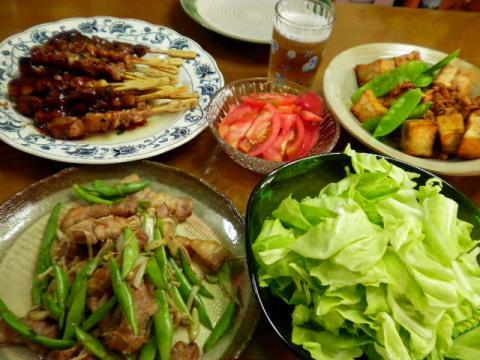 2010年5月24日夕食