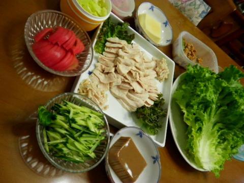 2010年5月25日夕食