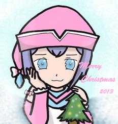 擬人化プリズムクリスマス