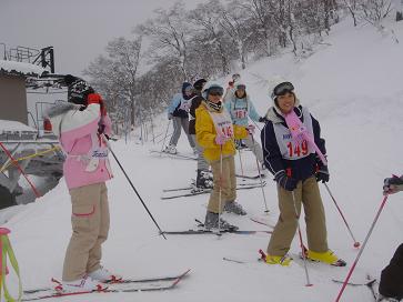スキー教室2037