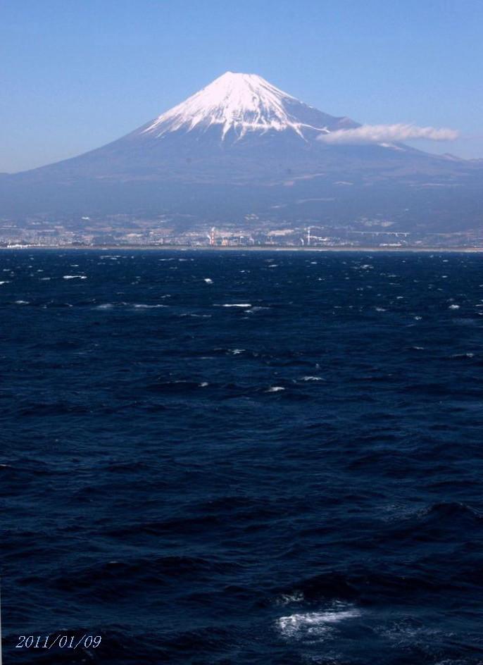 飛鳥Ⅱ 富士山3