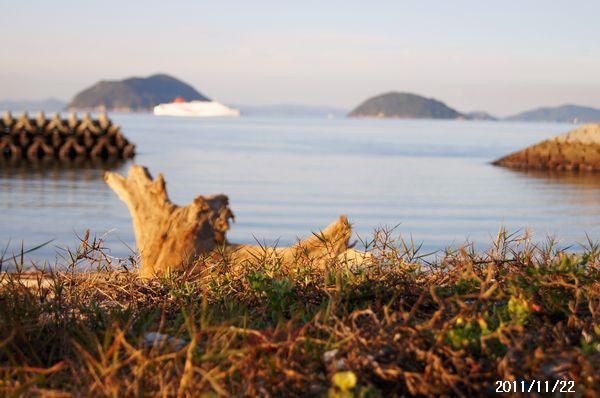 馬城裏の海岸