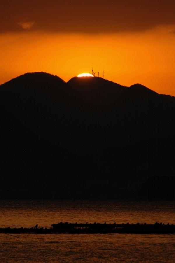 金比羅の夜明け