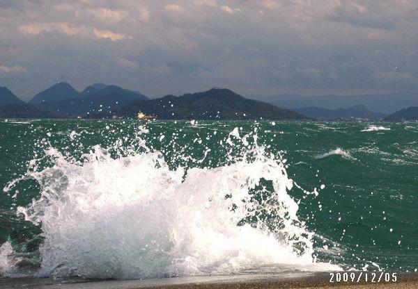 荒ぶる海1