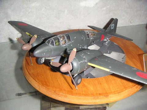 Iノ川さんの旧日本軍機