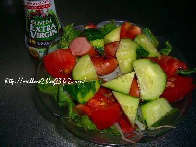 20120822 野菜サラダ