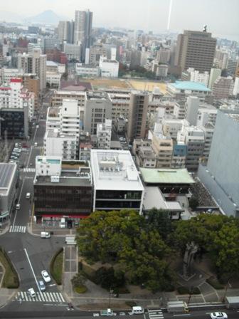 25階からの眺め