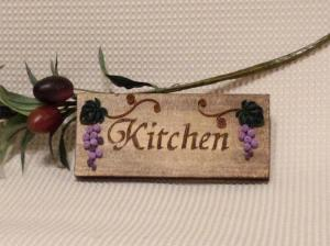 kitchenドアプレート