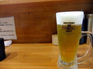 し ビール .