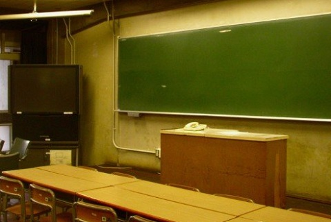 141213 教室の黒板