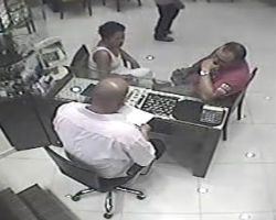 Incident in jewelry store