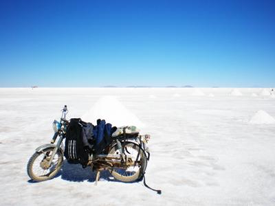 ウユニ塩湖乾季ボリビア