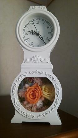 プリザーブド時計②2013.12.16