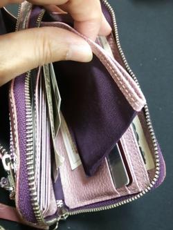 加藤良子L型長財布①2014.11.11