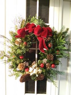 クリスマスリース2014.12.11