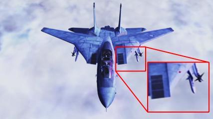 F-14A++ 前面インテーク周辺