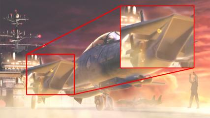 F-14A++ インテーク周辺
